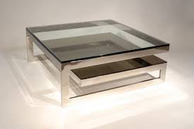 square glass top coffee table coffee table ideas attractive stainless steel table legs for best