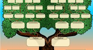 family tree template and get started