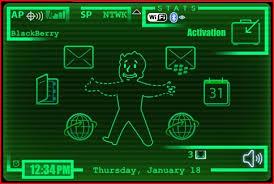 Seeking Theme Desperately Seeking Fallout 3 Pipboy 3000 Theme For Blackberry
