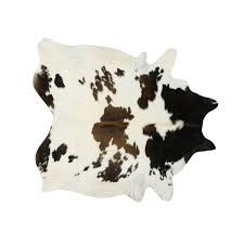 southwest rugs black brown and white special cowhide rugs lone