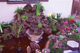 southern california native plants landscaping exterior water features water walls waterfalls streams ponds