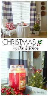 Curtains Block Heat Christmas In The Kitchen And New Curtains Diy Beautify