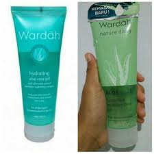 Wardah Gel review wardah aloe vera gel tulisan nya vera