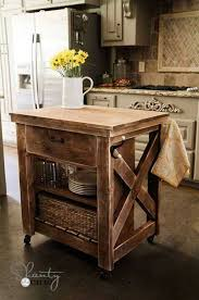wood kitchen island 32 simple rustic kitchen islands amazing diy interior