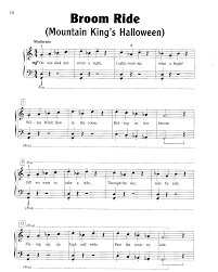 this is halloween piano sheet music