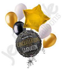 7pc graduation tapestry congratulations grad balloon bouquet