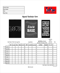 12 apparel order forms free sample example format download