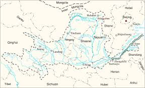 Hmong Map Stories Of Yellow River In China Yellow River U0027s Research And