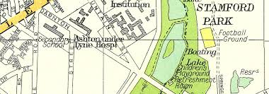 hurst map lancs ashton lyne stalybridge dukinfield higher hurst knoll