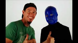 Halloween Makeup Man Shannon And Riley Time Lapse The Blue Man Group Halloween Makeup