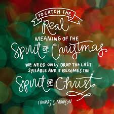 to catch the real meaning of the spirit of we need only