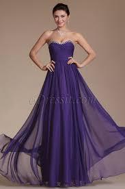 robe violette mariage robe de soirée longue bustier violette simple pour mariage c00144506