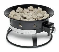 Portable Gas Firepit Endless Summer Outdoor Portable Gas Pit 58 000 Btu Ebay