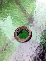 Patio Set Cover With Umbrella Hole by 2 2 U0027 U0027 Umbrella Hole Ring Cap Set For Glass Outdoors Patio Table