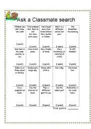 classmate search teaching worksheets school