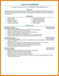Stockroom Manager Resume Samples Sample Of Warehouse Resume Collection Of Solutions Data Warehouse
