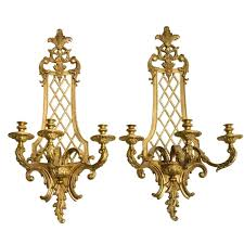 Country Sconces Country Style Wall Sconces Golden Fixture Gl Shade Country Style