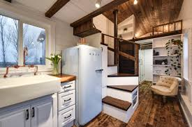 a luxury 273 square feet tiny house on wheels built by mint tiny