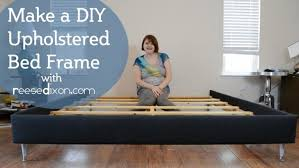 Make Your Own Bed Frame Bedroom Build Your Own Bed Frame How To Build A Diy