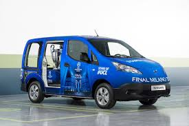 nissan van 2016 nissan evs set to electrify milan at uefa champions league final