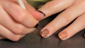how to do a cheetah design nail art designs youtube