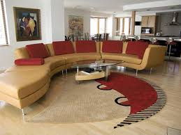 Modern Living Ideas  Modern Living Room Chairs Curved Leather - Curved contemporary sofa living room furniture