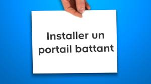 Pilier Portail Castorama by Installer Un Portail Battant Castorama Youtube