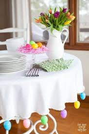 Easter Table Setting Easter Decorating Ideas Table Setting1000 Ideas About Easter Table