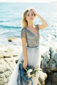 wedding dress blue 35 trendy and blue wedding gowns weddingomania blue