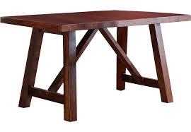 wood counter height table mango walnut rectangle counter height table dining tables dark wood