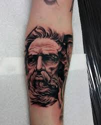 greek mythology tattoos design for men
