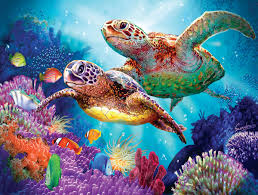 turtle guardian jigsaw puzzle puzzlewarehouse