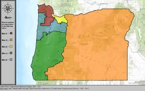 map oregon 5th congressional district oregon s congressional districts