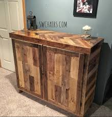 Reclaimed Wood Bar Cabinet Rustic Liquor Cabinet By Serenitywoodwork On Etsy Pinteres
