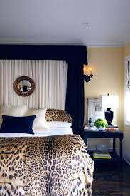 animal print bedroom ideas leopard bedding and canopy