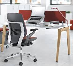 Free Desk Chair Workstation Desk Wooden Laminate Steel B Free Steelcase