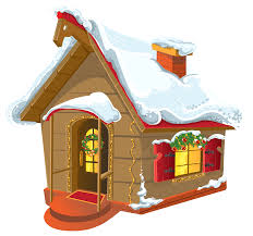 Winter House Winter House And Snow Png Clipart Image Clip Art Library