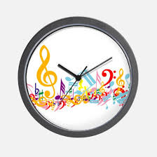 musical clocks musical wall clocks large modern kitchen clocks