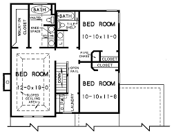 Cottage Floor Plan by The Walton 3428 And 2 Baths The House Designers