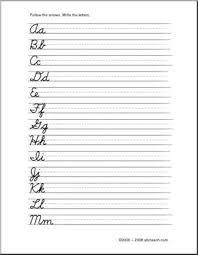 printable cursive letters a z worksheets u2013 printable editable