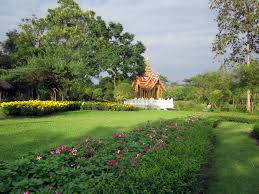 suan luang rama ix flower park taste of thailand