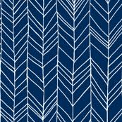 navy blue wrapping paper herringbone fabric wallpaper gift wrap spoonflower