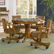 Dining Room Chairs With Casters Foter - Dining room chairs oak