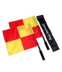 Lsw Flag Football Sahni Sports Football Referee Linesman Flags Chequered Buy