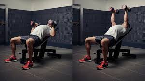 Incline Dumbell Bench Press Build Pec Power With This 40 Minute Chest Workout Minimalist Muscle