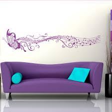 music wall decor musical butterfly wall sticker world of wall stickers