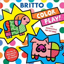 color play book by romero britto official publisher page