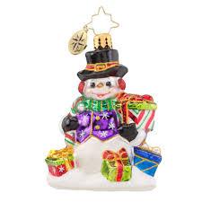christopher radko ornaments 2016 radko snow drift gifts gem