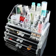 makeup storage acrylic makeup organizer cheap with drawersbig