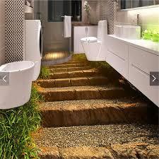 Retro Bathroom Flooring Aliexpress Com Buy Photo Floor 3d Wallpaper Retro Stone Steps